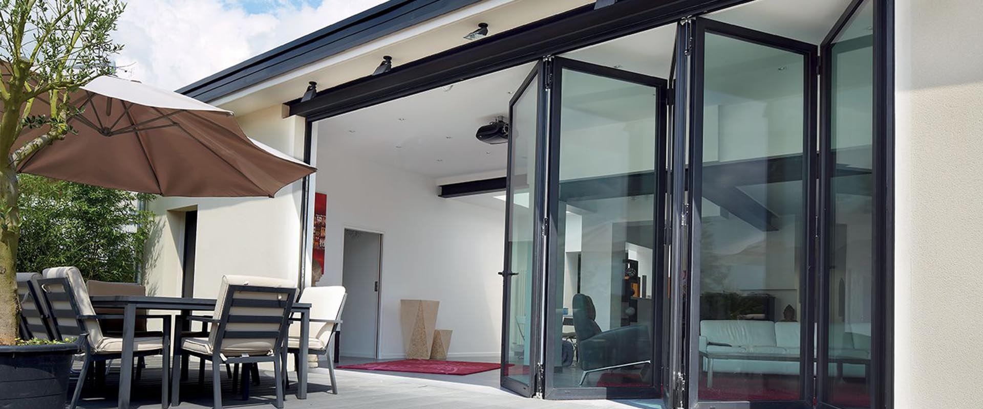 aluminium bi fold doors uk