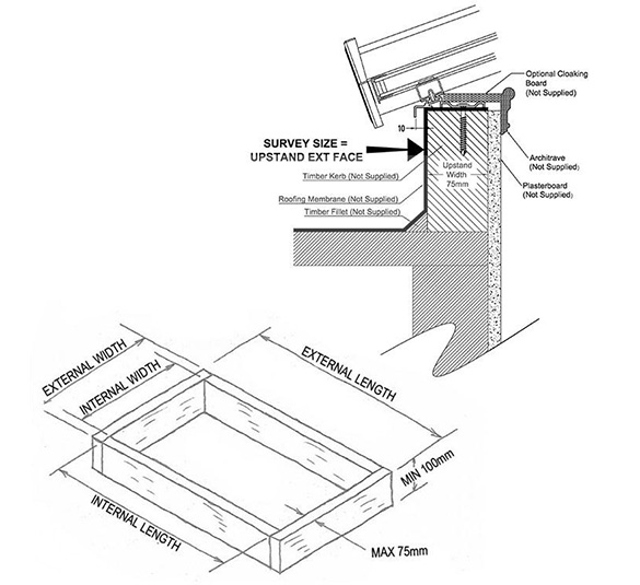 roof lantern measurement guide